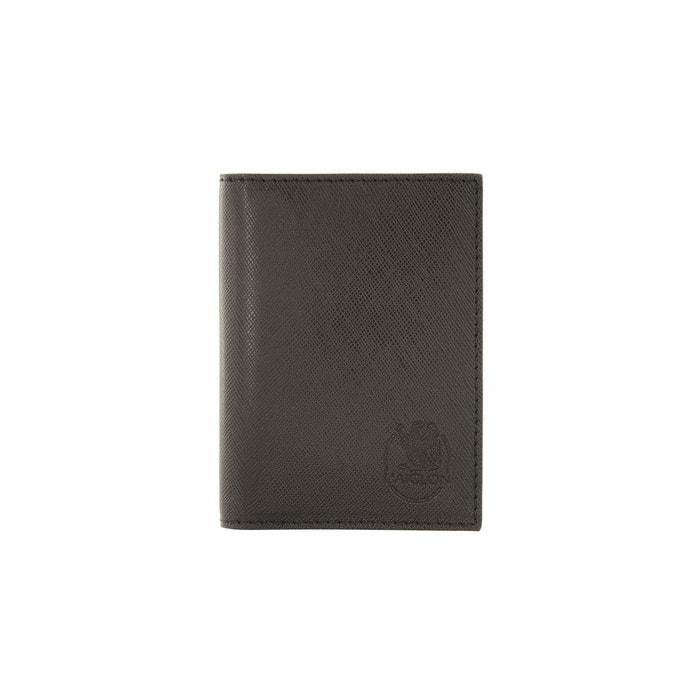 Original Rabais Porte carte de visite noir en cuir de vachette grain saffiano noir L'aiglon   La Redoute Prix Pas Cher De Haute Qualité Meilleur Authentique Zv1vnyy7J