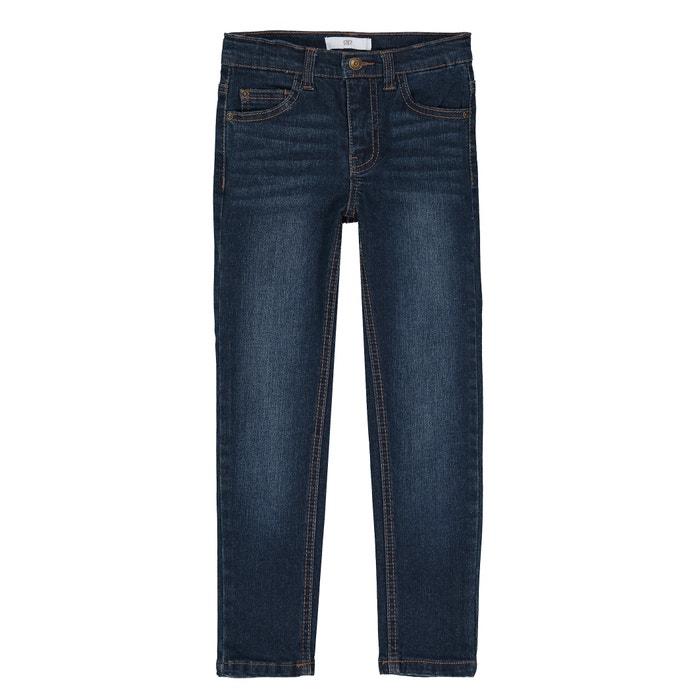 Jeans slim para morfologia larga, 3-12 anos  La Redoute Collections image 0