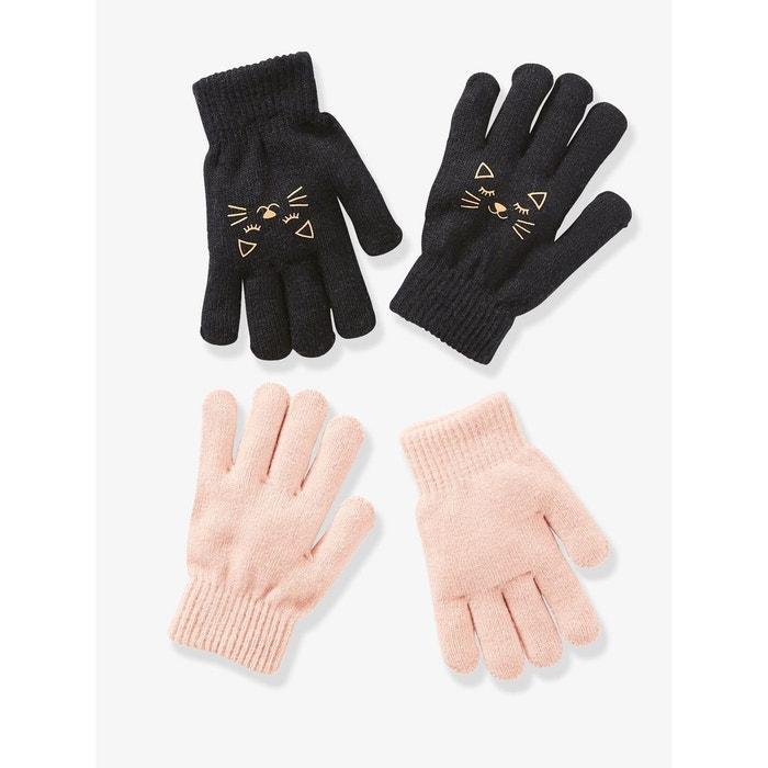 ac58fd8fffcd Vertbaudet Lot de 2 paires de gants garçon Décoration de Noël