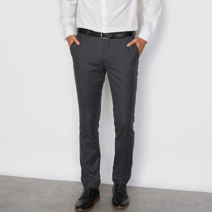 Image Flannel Suit Trousers. R essentiel