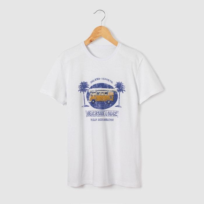 afbeelding Bedrukt T-shirt  Van beachside lodge La Redoute Collections