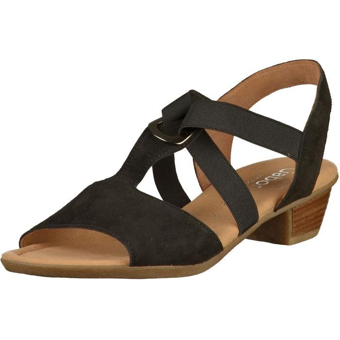 noir Gabor Sandales Sandales noir 6qR168np