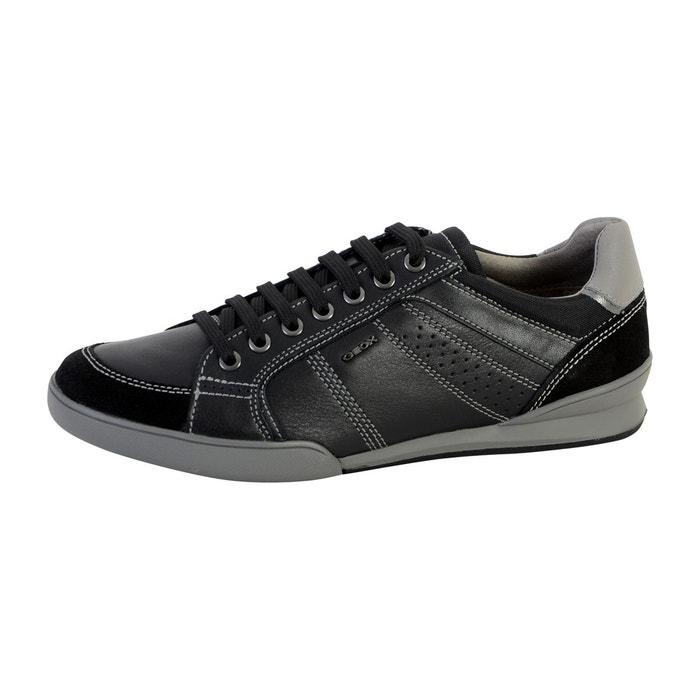 Chaussures De Sport Noir Avec Lacets Geox Geox Kristof kZz6bGwJC1