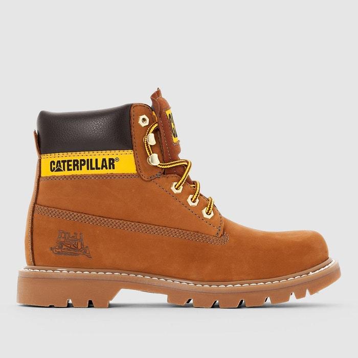 dadb8832b952b6 Boots en cuir colorado naturel Caterpillar | La Redoute