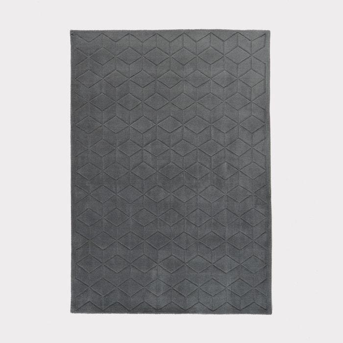 Image FALKE 3D Effect Pure Wool Rug La Redoute Interieurs