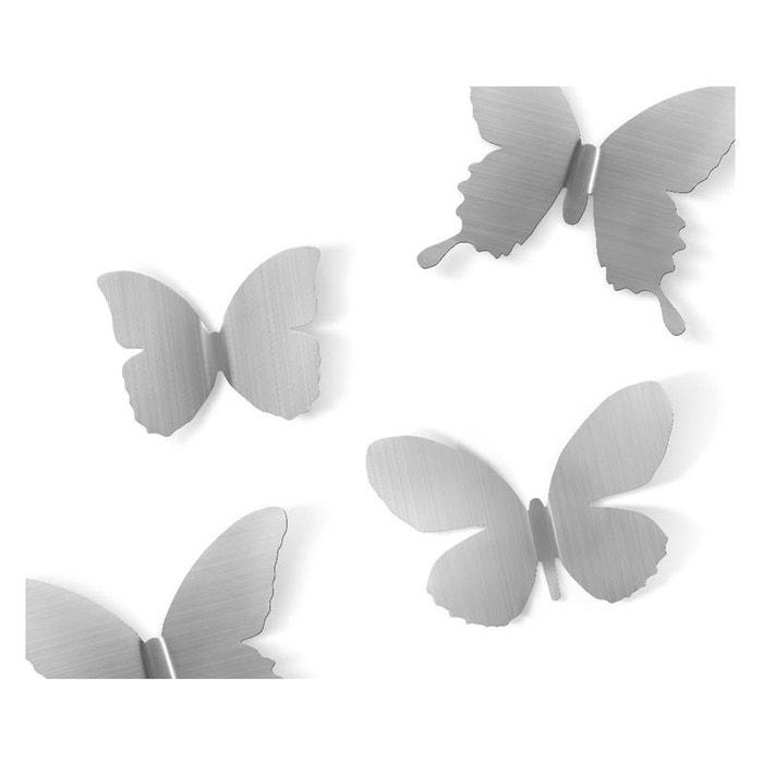 Déco murale papillons métal lot de 9 umbra 1