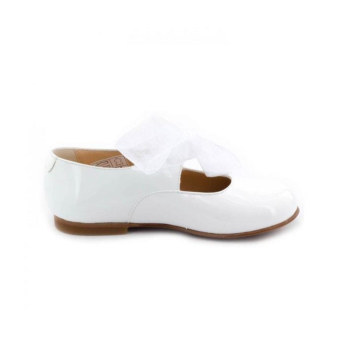 Chaussures de mariage pour baptême Boni Classic Shoes blanches pour bébé ogE9f2G