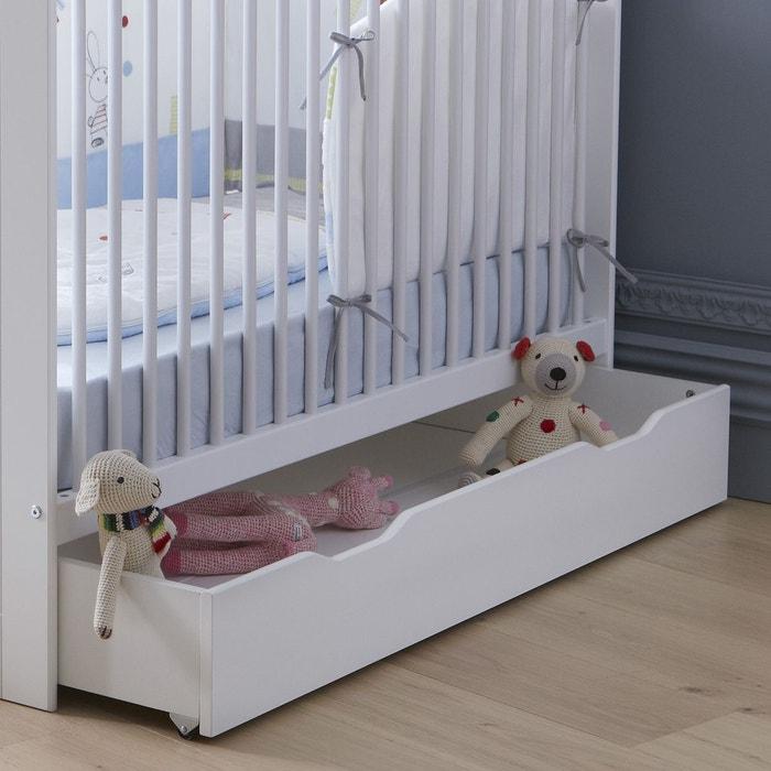 tiroir de lit bebe blanc z lie blanc alfred et compagnie la redoute. Black Bedroom Furniture Sets. Home Design Ideas