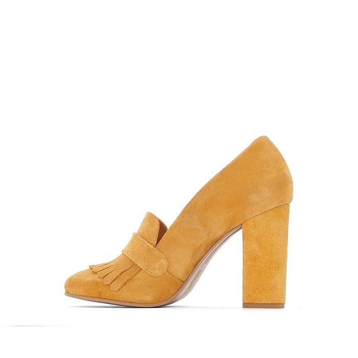 Escarpins synthétique jaune foncé Mademoiselle R