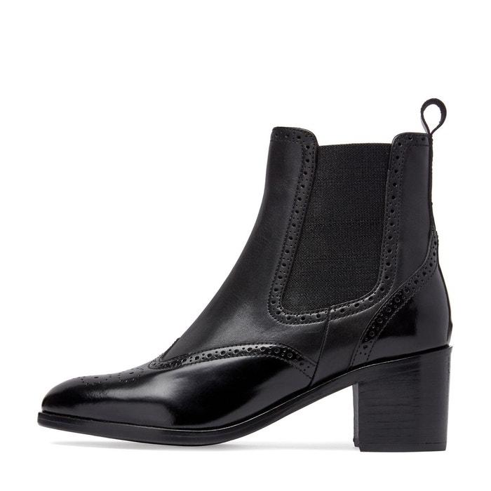 Boots cuir palomo Dune London