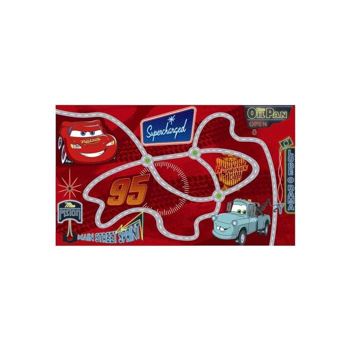 Tapis Enfant Et Disney Circuit Cars Laine Rouge Cars La Redoute