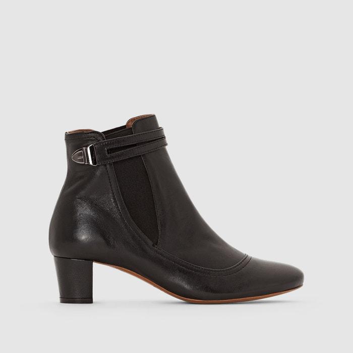 afbeelding Boots in leer Devon HEYRAUD