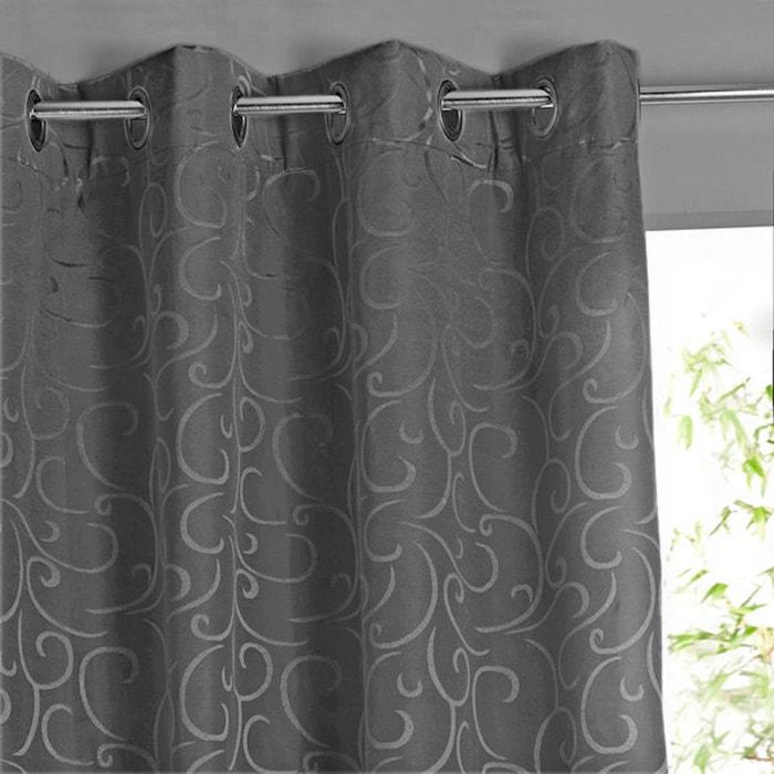 Beriza Blackout Eyelet Single Curtain  La Redoute Interieurs image 0
