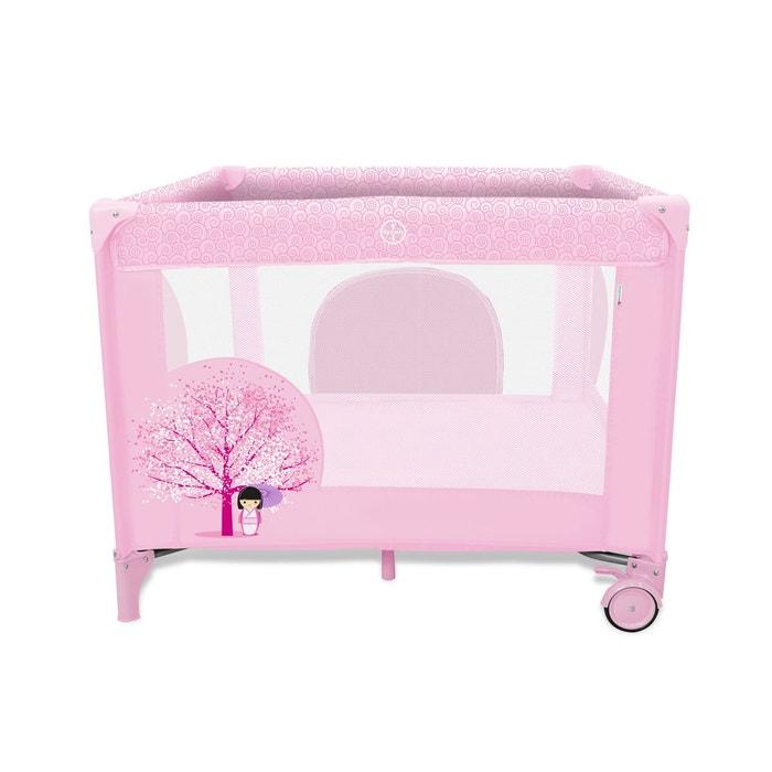 parc pliant baby fox collection 39 japonaise 39 rose couleur unique baby fox la redoute. Black Bedroom Furniture Sets. Home Design Ideas