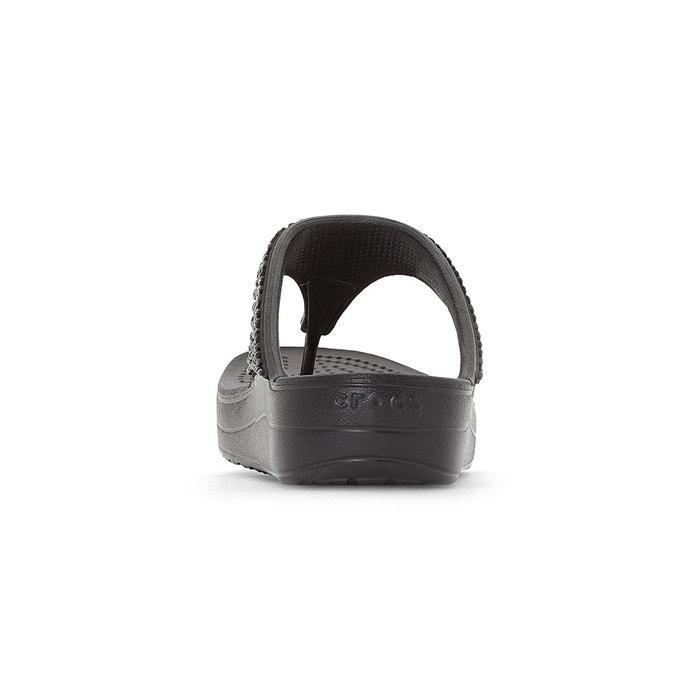 compensées Sloane CROCS Crocs Tongs Embellished Flip YWqSS5wt