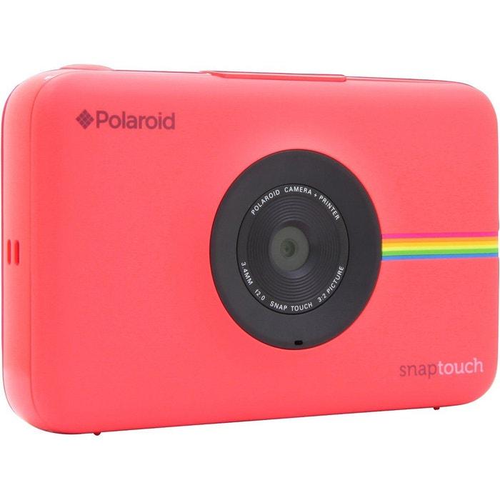 appareil photo instantan snap touch rouge polaroid la redoute. Black Bedroom Furniture Sets. Home Design Ideas