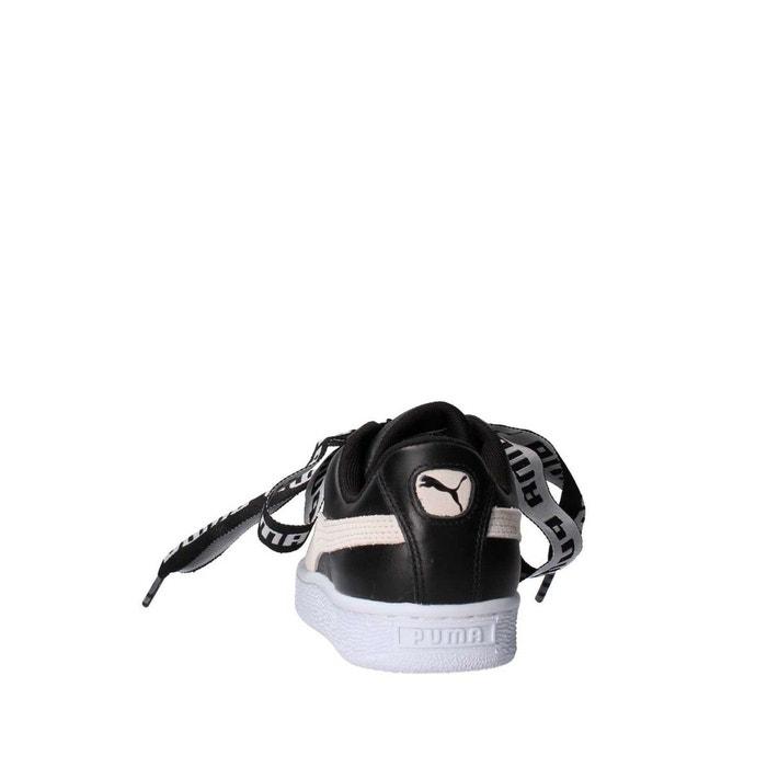 Chaussures heart de wns noire blanche noir Puma
