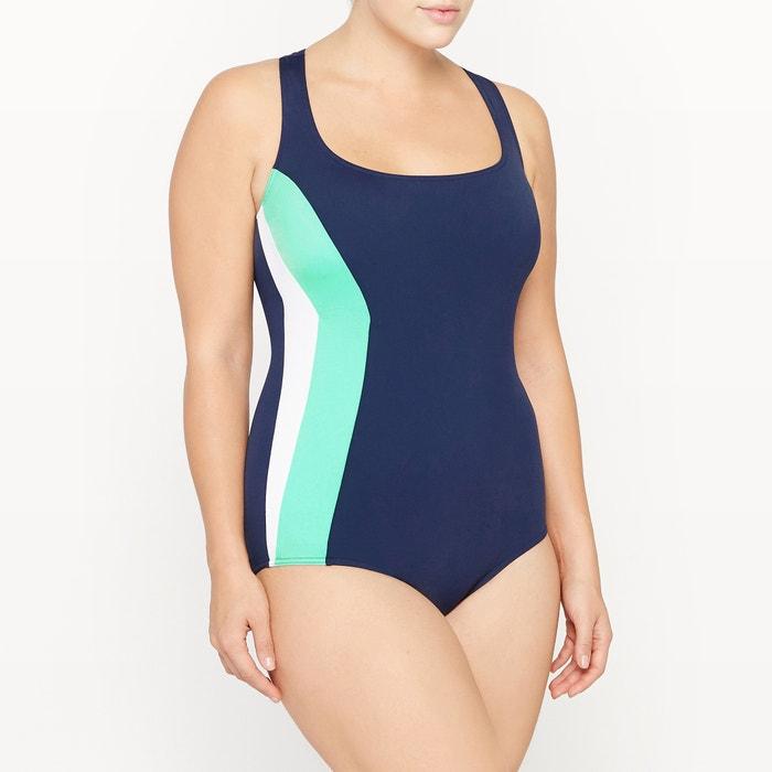 Imagen de Bañador para piscina con espalda cruzada. CASTALUNA