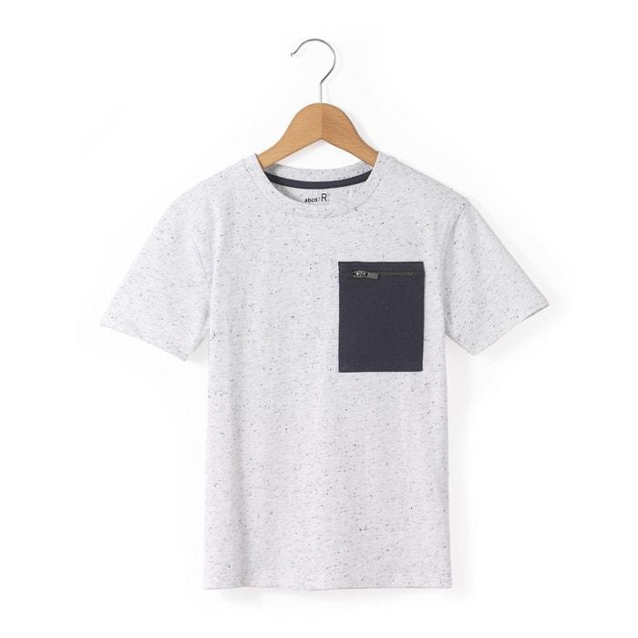 Image T-shirt moucheté avec poche 3-12 ans La Redoute Collections