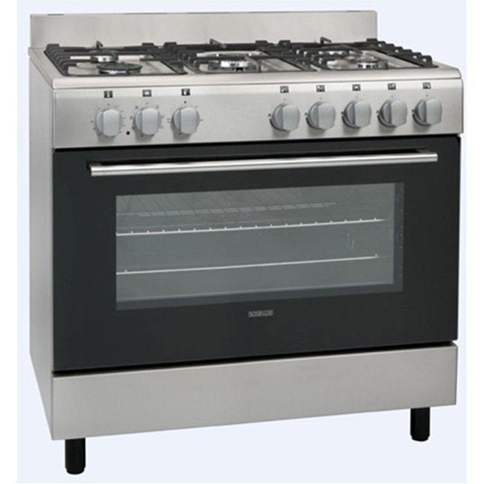Cuisini re piano de cuisson sogelux cm9161x inox couleur for Equipement electromenager cuisine