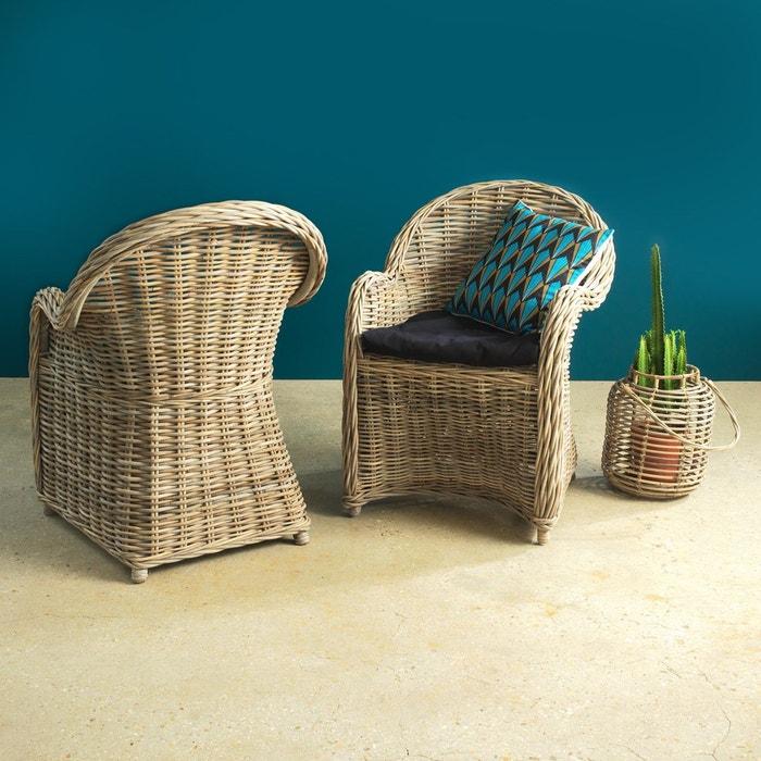 fauteuil rond rotin vdl en soldes bois made in meubles. Black Bedroom Furniture Sets. Home Design Ideas