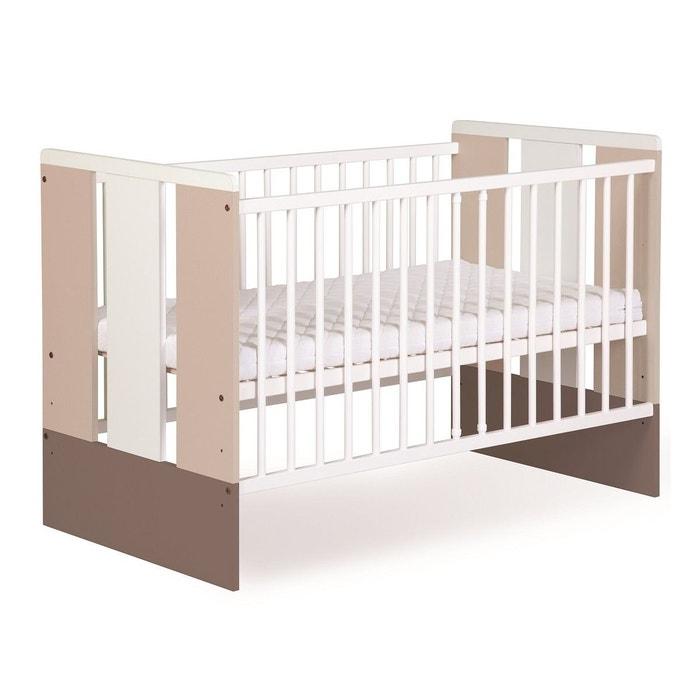 Lit bébé paula - 120 cm x 60 cm ecru Petite Chambre | La Redoute