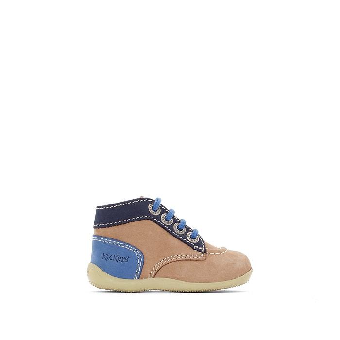 Image Boots cuir Bonbon KICKERS