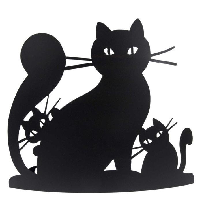 applique murale en fer forg la chatte et les chatons noir atelier jouvenaud la redoute. Black Bedroom Furniture Sets. Home Design Ideas