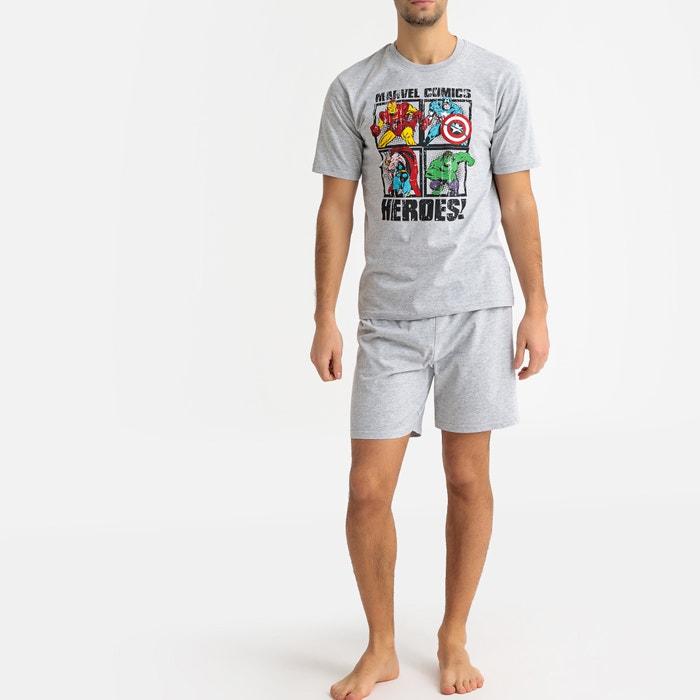 mejor proveedor diseño superior último diseño Pijama con short Los Vengadores