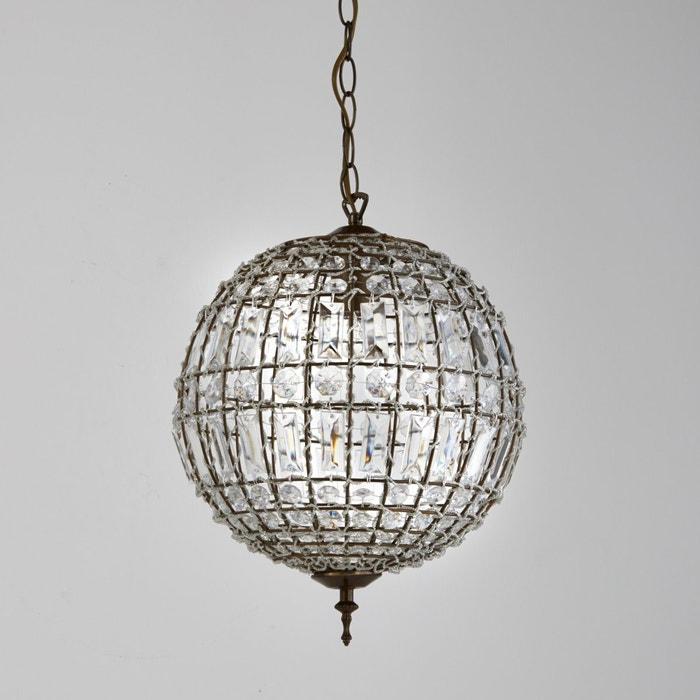 afbeelding Bolvormige hanglamp met hangertjes, Haru La Redoute Interieurs