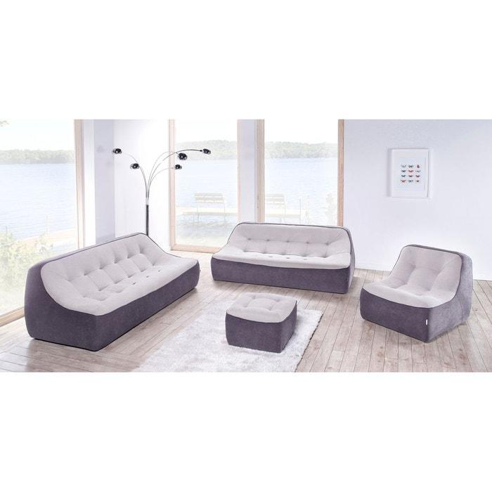 tchubby canap fixe 2 places dunlopillo la redoute. Black Bedroom Furniture Sets. Home Design Ideas