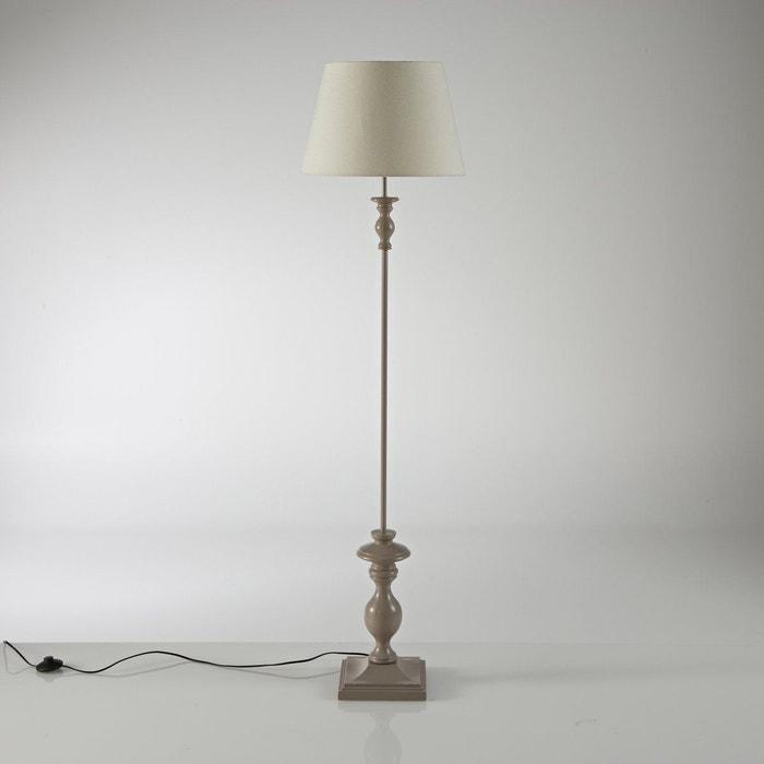 Lampadaire h v a kissa marron taupe cru la redoute interieurs en solde la - La redoute lampadaire ...