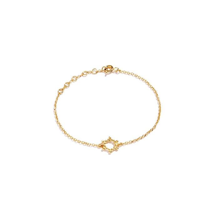 Prix Bas À Vendre Vente Exclusive Bracelet chainette en vermeil petit soleil or Agnes De Verneuil | La Redoute De Gros Jeu Nouveau 2018 Vente Footlocker Bwp3hHD96