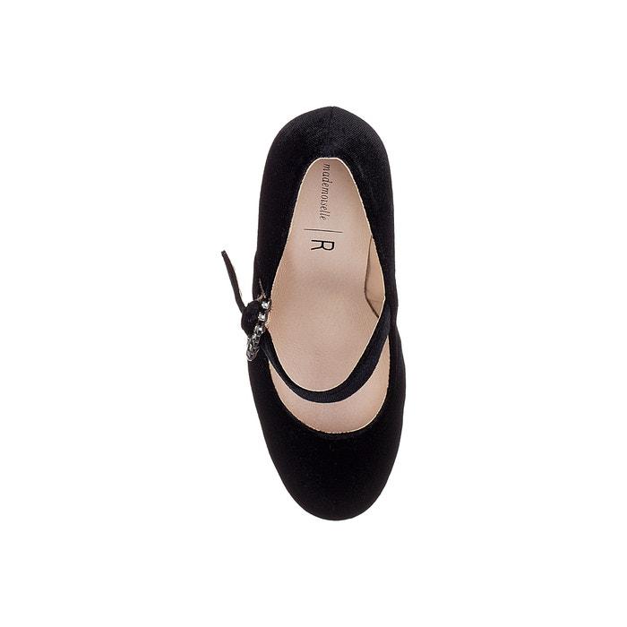 terciopelo de MADEMOISELLE Zapatos R fantas hebilla 243;n con tac de 237;a YwYpqEf