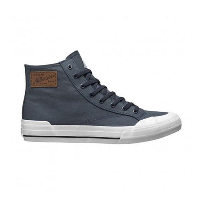 Chaussures huf x british millerain classic hi bleu canvas impermeable  bleu marine Huf  La Redoute