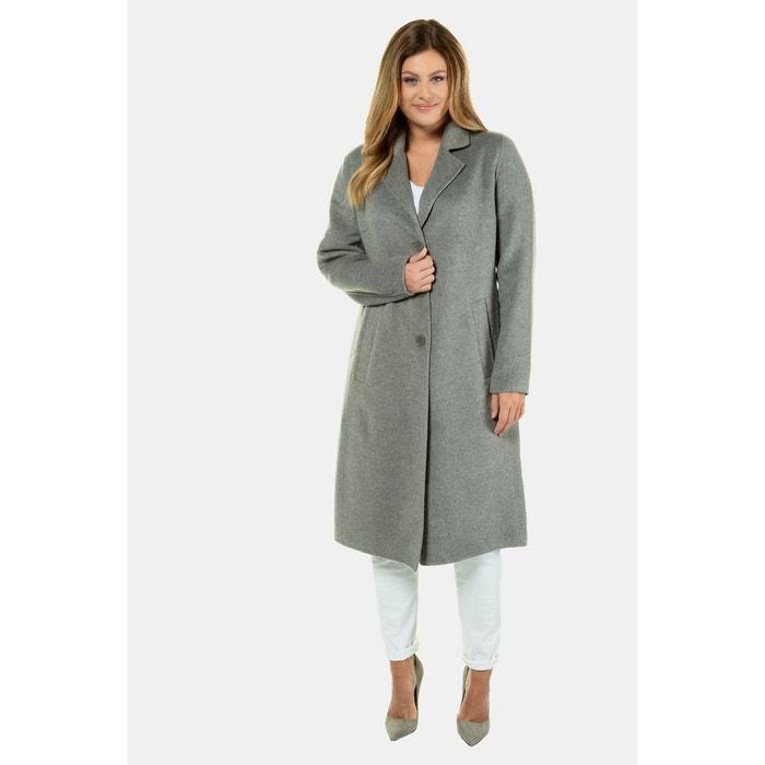 Manteau en laine gris clair Betty Barclay | La Redoute
