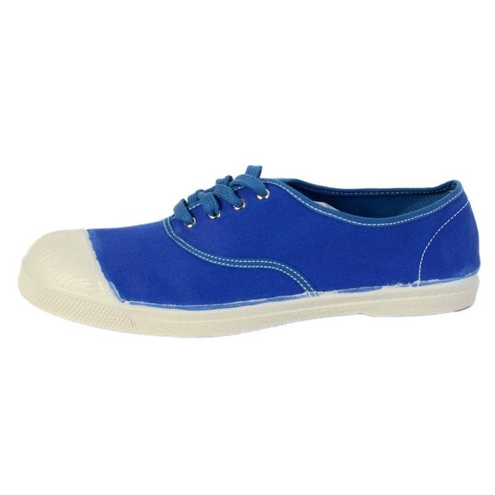 Bensimon Tennis Vintage Femme  Bleu Vif Bleu - Livraison Gratuite avec  - Chaussures Basket Femme