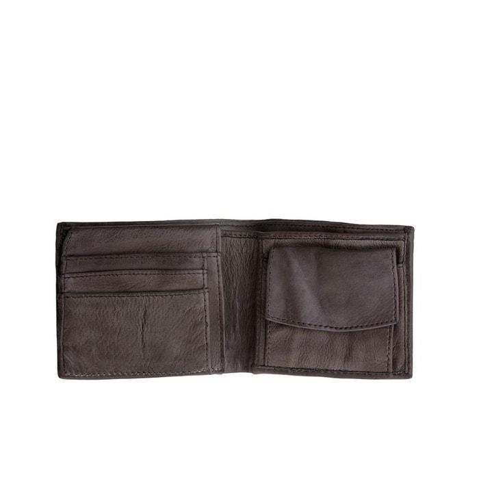 Portefeuille pour homme en cuir vieilli avec porte monnaie de dudu la redoute - Portefeuille cuir homme avec porte monnaie ...