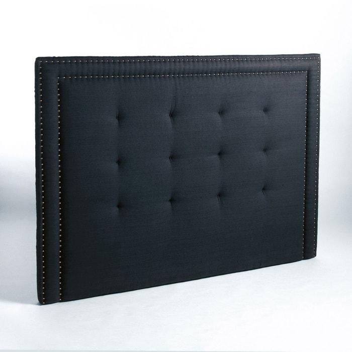 t te de lit capitonn e lin lav h135cm hampstead am pm la redoute. Black Bedroom Furniture Sets. Home Design Ideas
