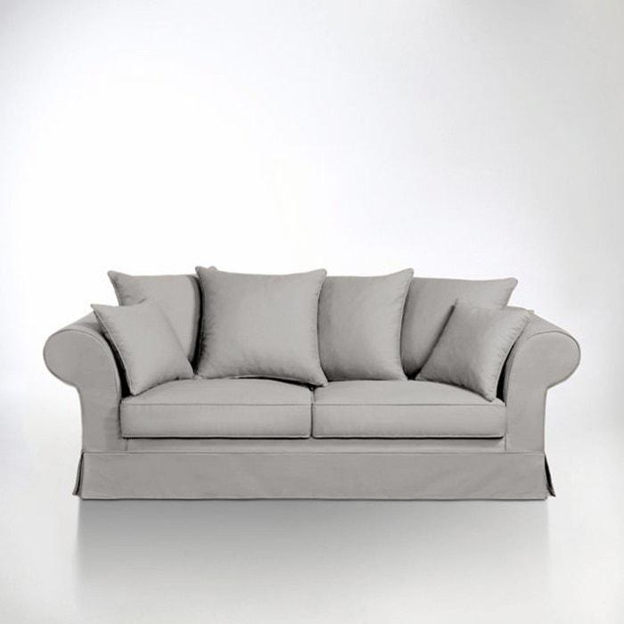 canap convertible bultex coton adelia la redoute interieurs la redoute. Black Bedroom Furniture Sets. Home Design Ideas
