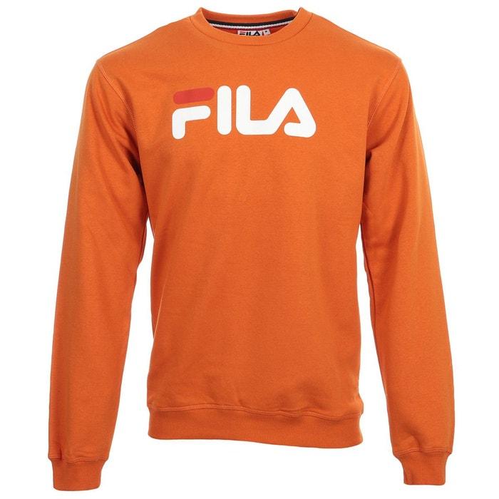 Sweat pure crew sweat orange Fila   La Redoute 0872ada0a9b1
