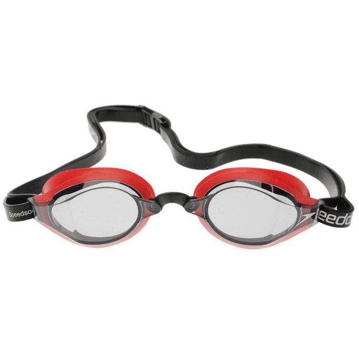 a9737d87f3bfe Lunettes de protection natation noir Speedo