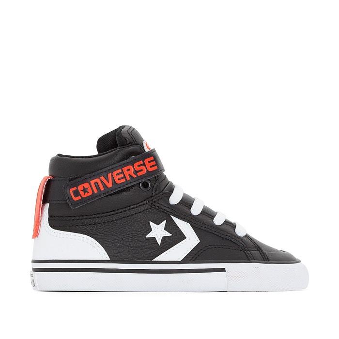 converse noir cuir