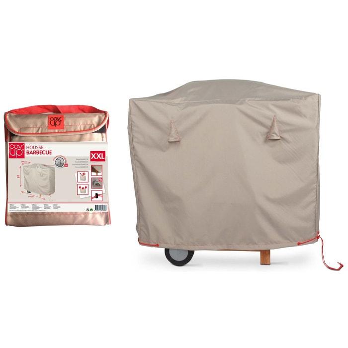 housse de barbecue maxi 170 x 100 cm gris boutique jardin la redoute. Black Bedroom Furniture Sets. Home Design Ideas