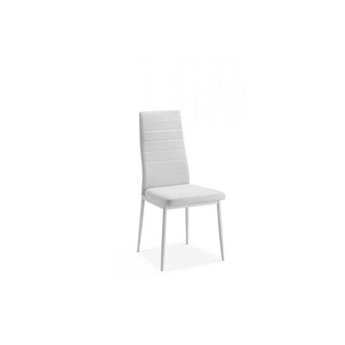 Chaise blanche ken blanc declikdeco la redoute for La redoute chaise