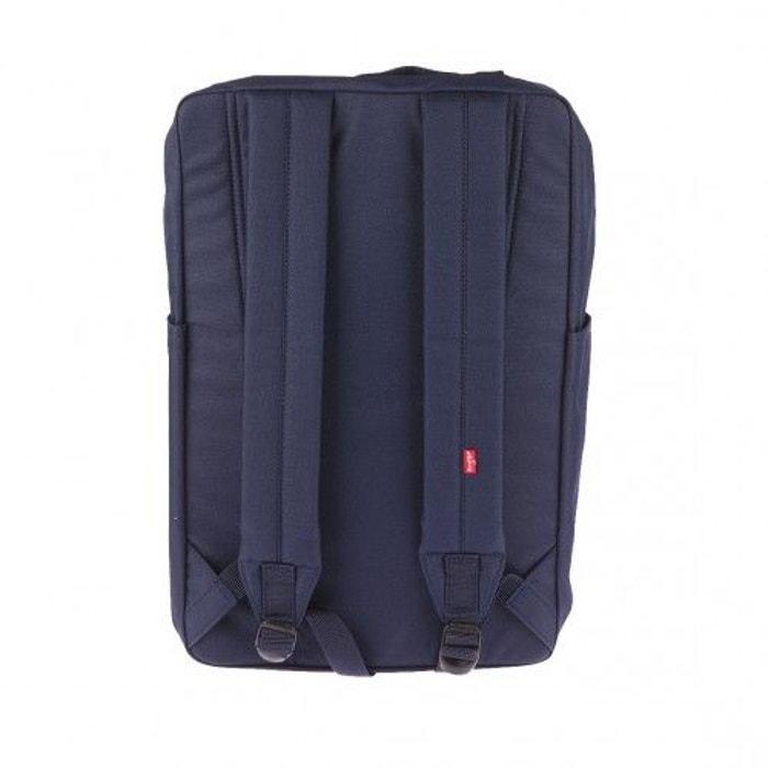 Sac à dos Levi's L Pack en toile bleu marine 1hxeYCT3q