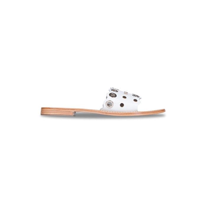 Sandales sofia  blanc Bons Baisers De Paname  La Redoute