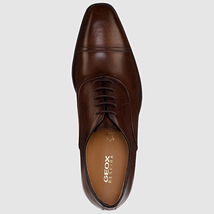 de C GEOX GEOX tipo derbies LIFE Zapatos piel NEW Fw5qZ5pax