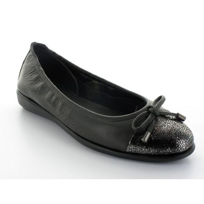 Flexx Ballerine  Let Me Love U Noir Noire - Chaussures Ballerines Femme