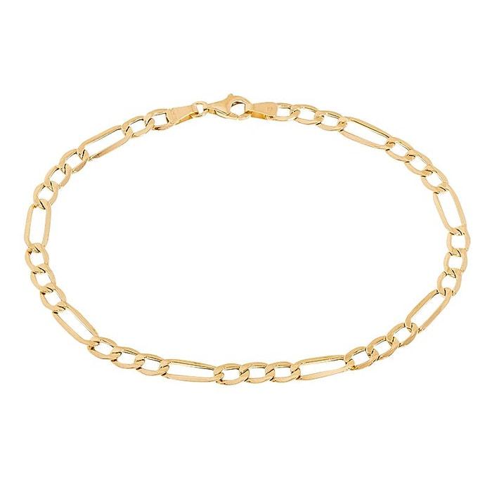 Bracelet or 375/1000 dore Cleor | La Redoute Fourniture Sortie Paiement Visa Prix Pas Cher HMF8Dn1m3l